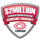 Complete Termite Solutions Offer a $2 Million Assurance Warranty.